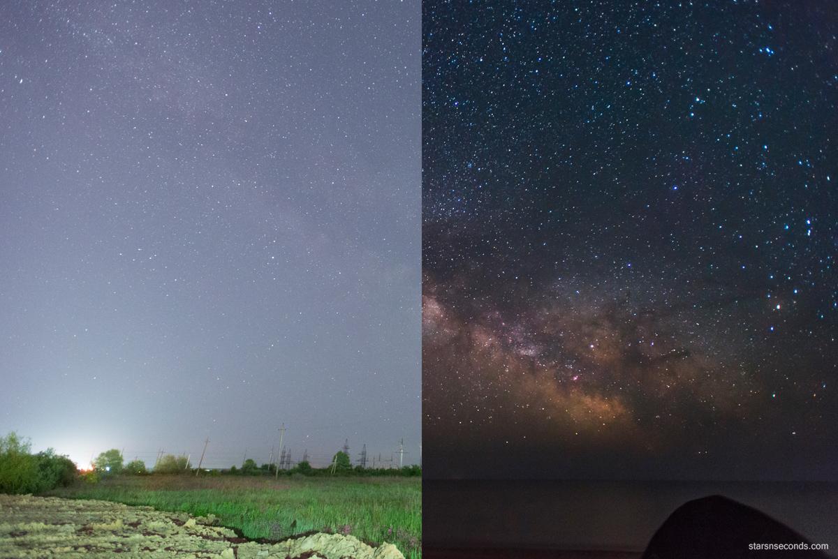 Как фотографировать звезды с телефона